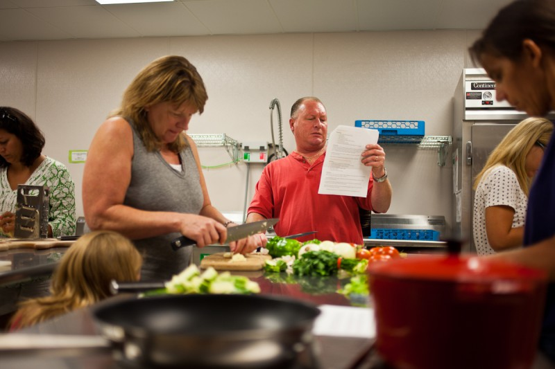 learn how to cook healthy classes