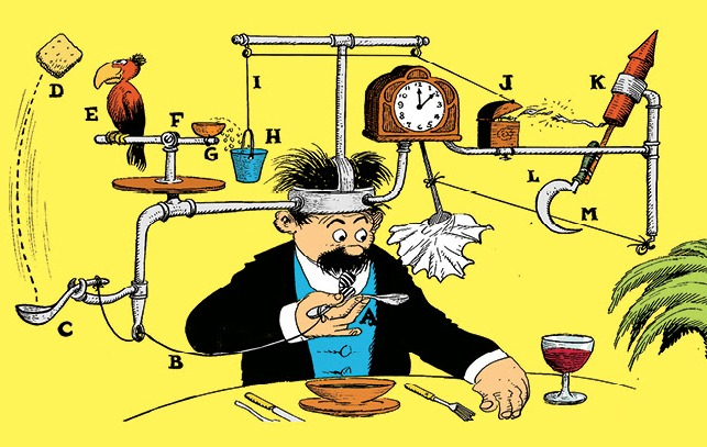 WOW Presents: The Art of Rube Goldberg at the Contemporary Jewish Museum