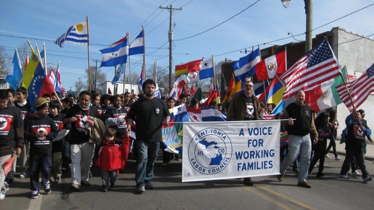 Cesar E. Chavez March for Social Justice
