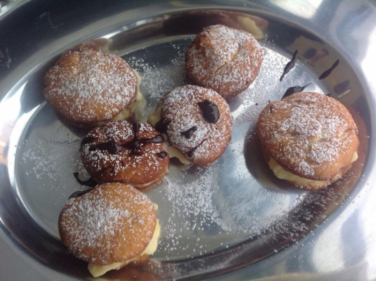 Diana Knorr's homemade Krapfen took first place in overall ratings