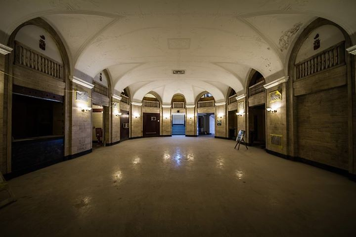 The Morton, grand hall