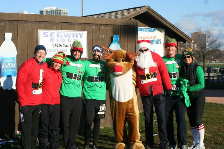 The Go Santa Go 5K takes place in Millennium Park on Saturday, Dec. 6.