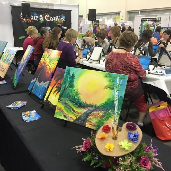 Wine And Canvas Wants To Prove You Can Paint The Rapidian