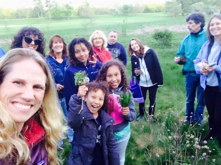 Rose cultivating a sense of place with a foraging class