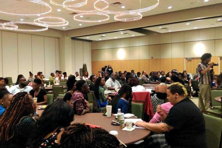 Black Live Matter's international retreat at Wayne State University