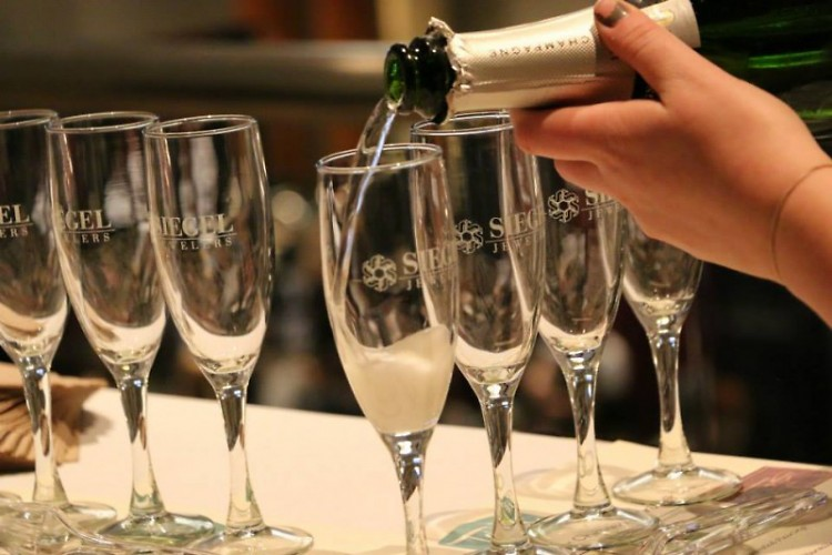 Champagne Flight tastings, one of the many activities available this weekend.