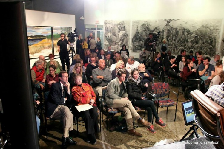Last years' Critical Discourse events brought a packed crowd