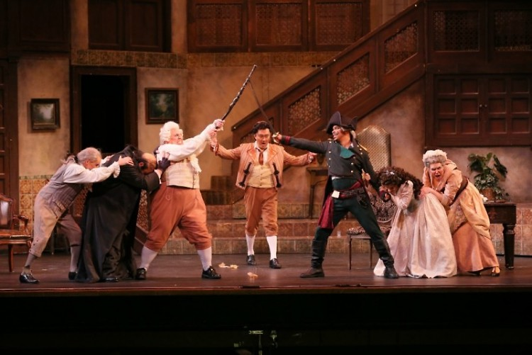 "Opera Grand Rapids' production of ""The Barber of Seville,"""