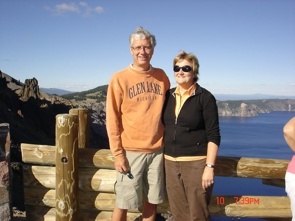 Jim Talen and his wife Pat