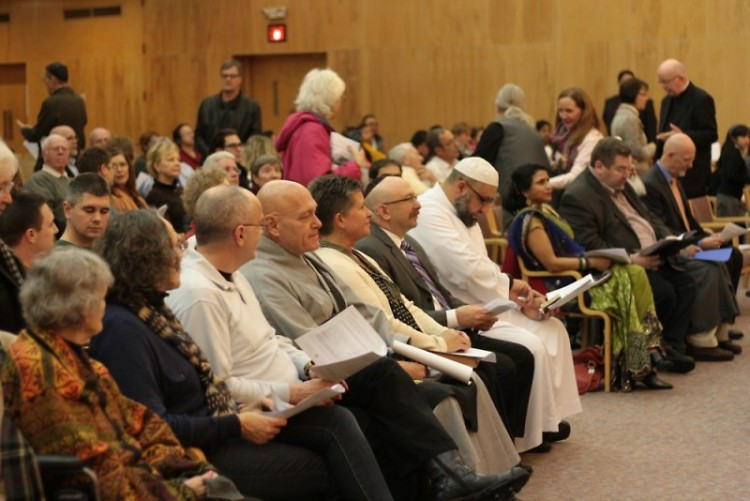 2013 Interfaith Thanksgiving Celebration at Temple Emanuel