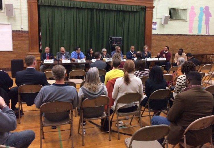Candidate forum in 2016