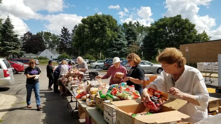 Feeding America West Michigan Mobile Pantry
