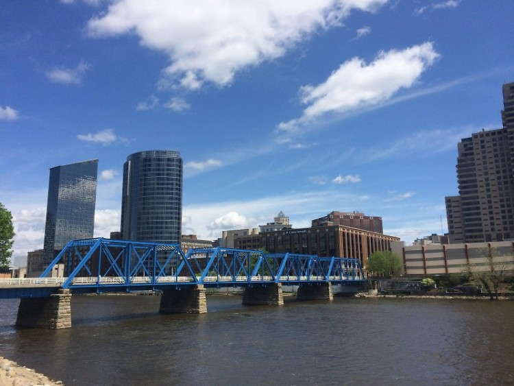 Walk across the Blue Bridge at ArtPrize this Friday and Saturday to hear the sounds of West Michigan at a music festival.
