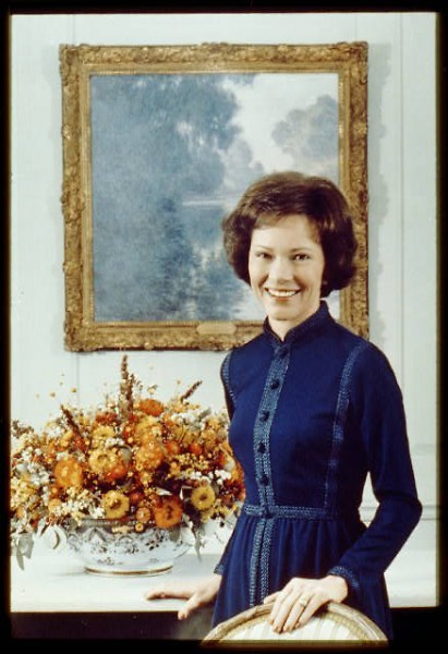 Rosalynn Carter in 1977.