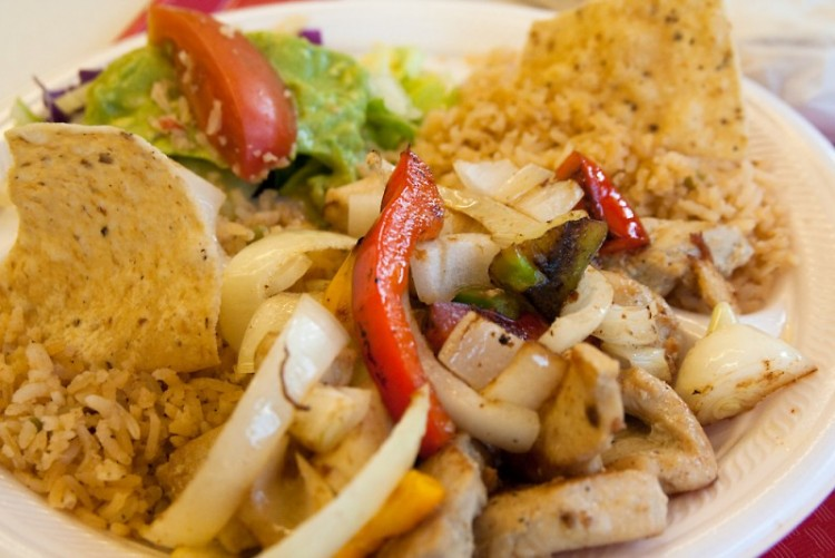 The chicken platter is one of the dishes served at Maggie's Kitchen.