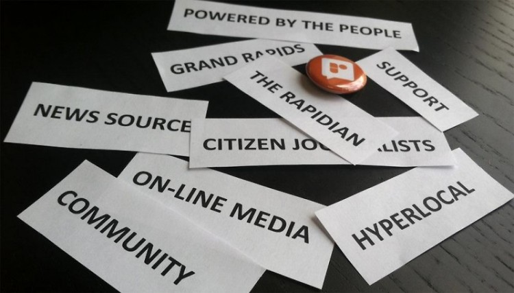 More than 6,000 individual users have logged in to The Rapidian over the years, with around 18,000 articles submitted.
