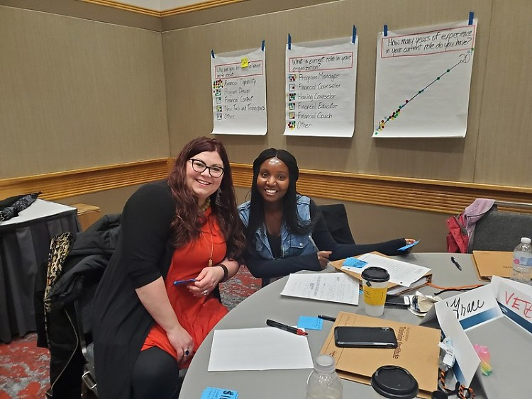 Dwelling Place's Financial Coaches attended the NeighborWorks National Training Institute in December 2019.
