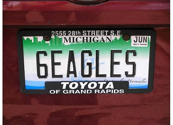 Augustine Iacopelli's License Plate