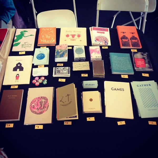 Issue Press at the Chicago Zine Fest