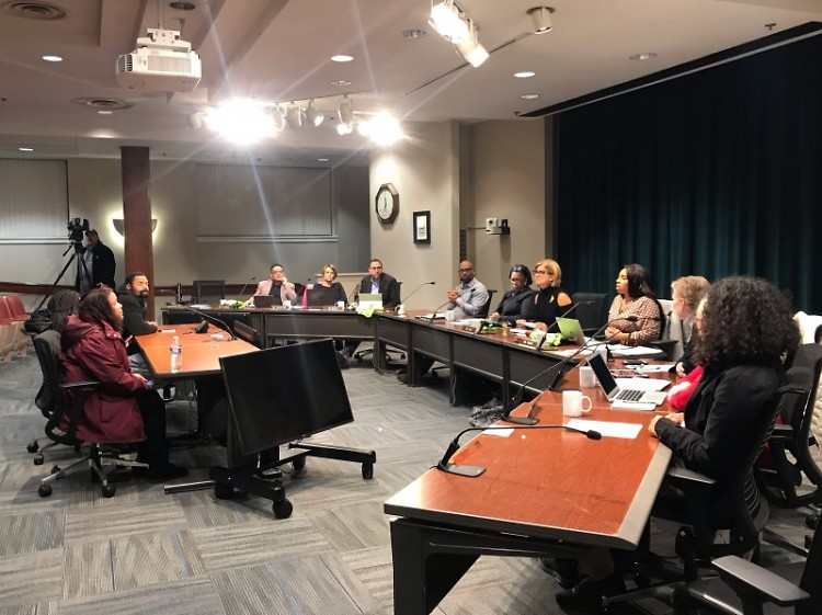 November 19, 2018 GRPS Board of Education meeting