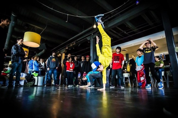Aerial Tactic break dancers will be performing at the meeting