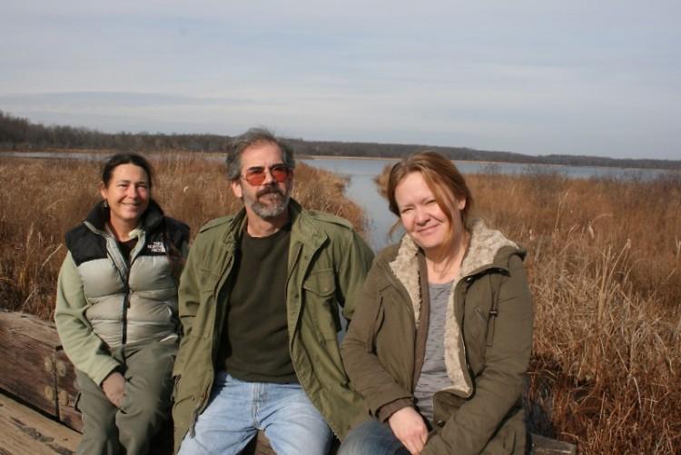 MLAWD members Corinne Turner, Steve Losher, and Tammy Hall