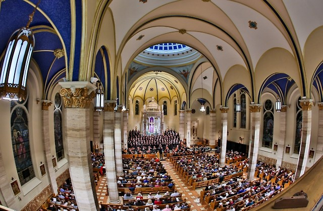 2019 Grand Rapids Bach Festival's final concert was held in the Basilica of St. Adalbert on Saturday, March 23 in Grand Rapids
