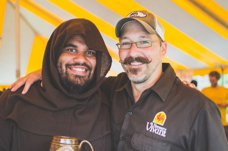 Craft beer for the community: Ben Darcie and Jason Spaulding of Brewery Vivant.