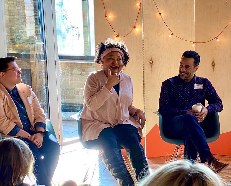 Panelists at Break It Down | Make It Better in 2020