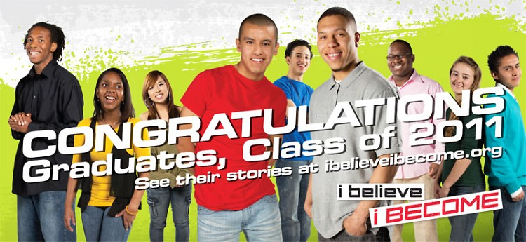 B2B billboards recognize the tremendous accomplishments of 23 exceptional GRPS graduates from the Class of 2011.