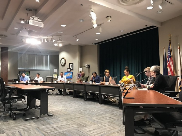 GRPS board meeting on August 6, 2018