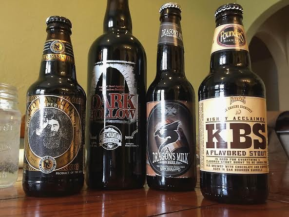 The beer bottles in all their glory