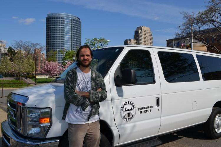 Brian Haik, owner of Grand Rapids Beer Tours