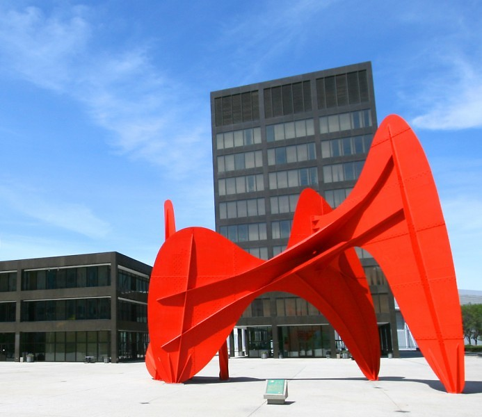 Calder Plaza in Grand Rapids