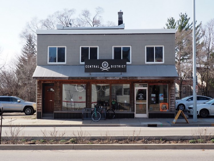 Central District Cyclery recently moved into the Creston neighborhood on Plainfield Avenue.