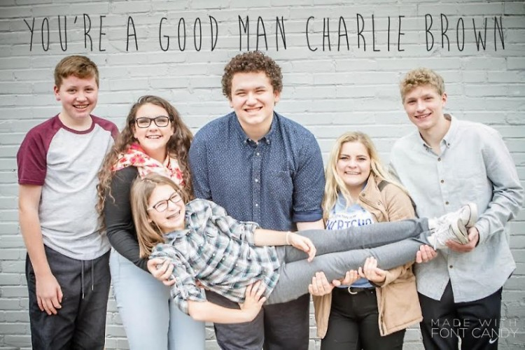 "Cast of ""You're a Good Man, Charlie Brown"""