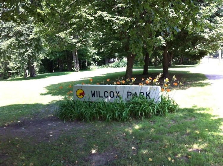 "Wilcox Park, location of the ""Dig into Spring"" workshops"