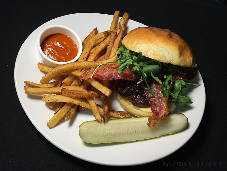 Our favorite not only of day two but of both days combined is the Divani Burger.