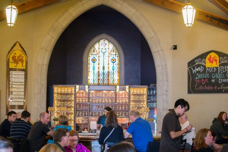 Brewery Vivant taproom