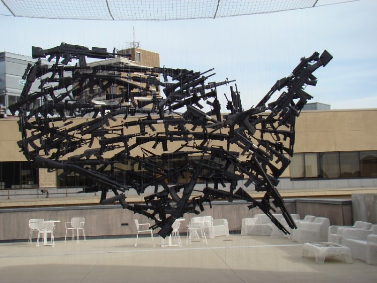 """""""Gun Country"""" by Michael Murphy at UICA"""