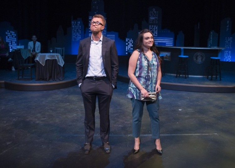 Leads Jared Douglas and Katie Tamayo as Aaron and Casey