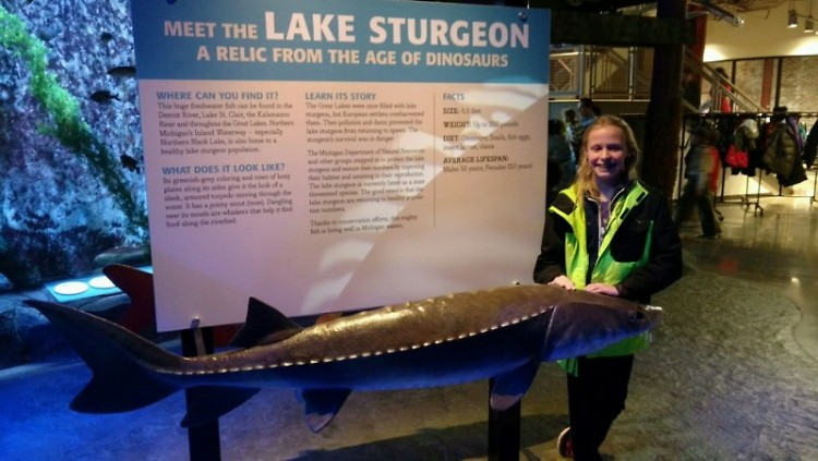 Elena is fascinated by sturgeon and loves to share her knowledge with others.