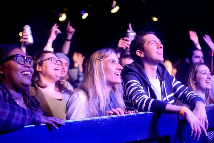 Front row fans at The Jammies 2018