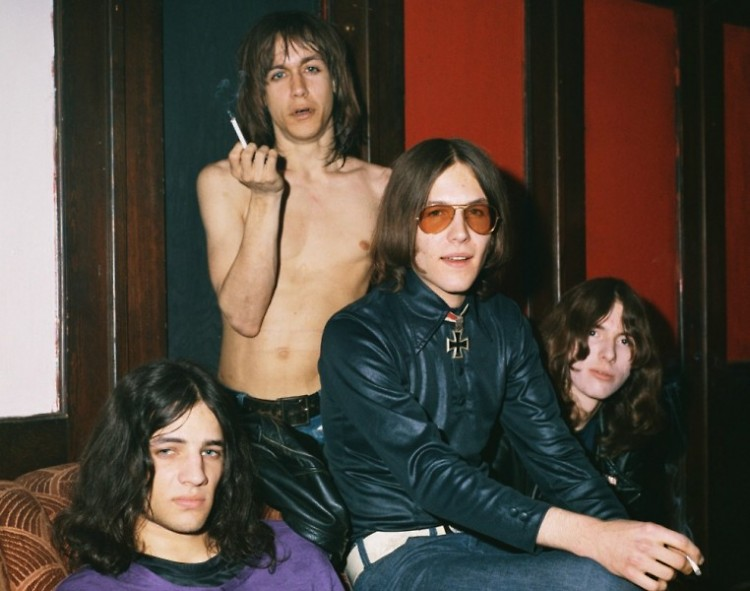Iggy Pop, Scott Asheton, Ron Asheton, and Dave Alexander in GIMME DANGER, a Magnolia Pictures release.