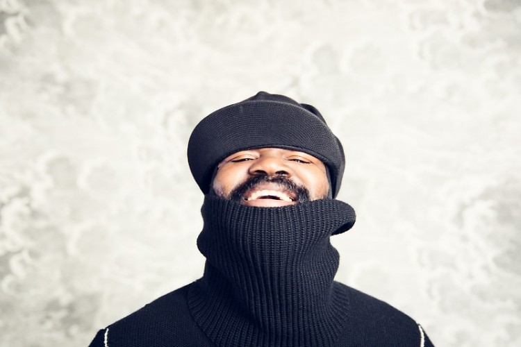 Gregory Porter performing at SCMC on February 22, 2018