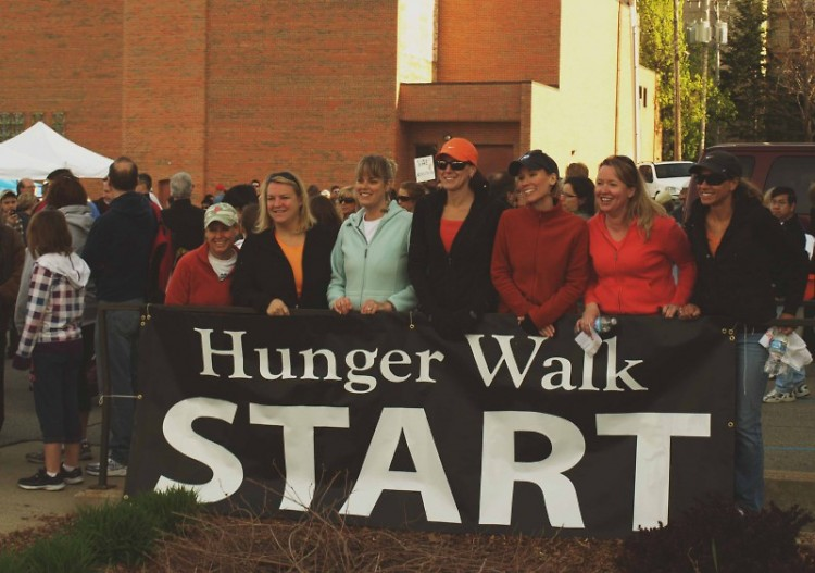 The Hunger Walk is fun for groups of all ages!