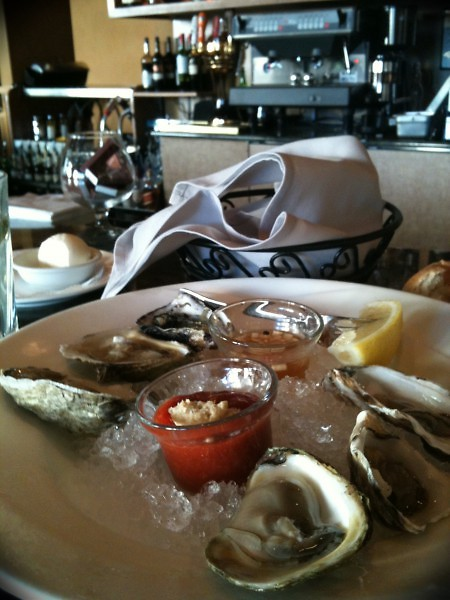 Excellent seafood, especially the oysters. Fresh. Next best thing to being on the coast.