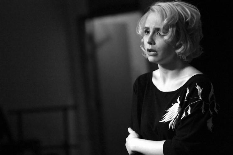 Emily Parr as Marilyn Monroe.