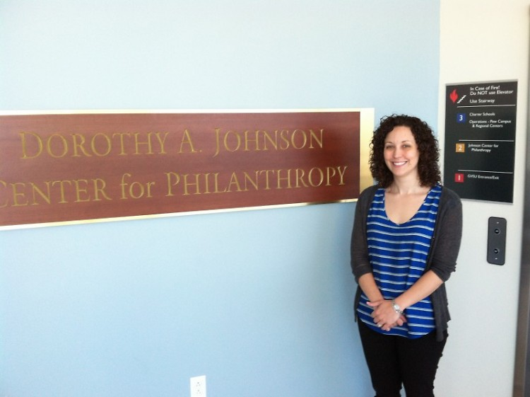 Tera Qualls, Project Manager at the Johnson Center's Community Research Institute.