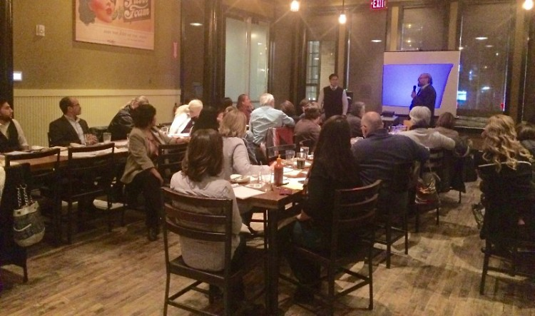 """""""Know Your Rights"""" training at Grand Rapids Brewing Company"""